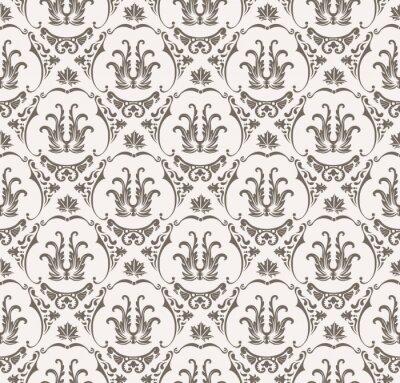 Nálepka Vektorové bezproblémové vzorek s uměním ornamentu pro design