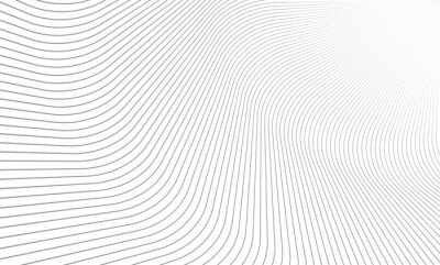Nálepka Vektorové ilustrace vzoru šedé čáry na bílém pozadí. EPS10.
