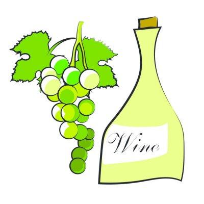 Nálepka Víno