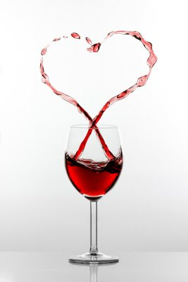 Nálepka Víno Splash