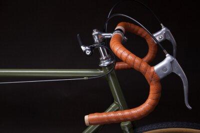 Nálepka Vintage kolo řídítka