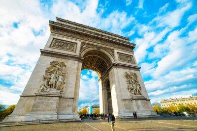 Nálepka Vítězný oblouk v Paříži