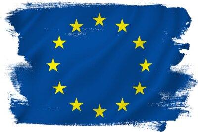 Nálepka Vlajka EU