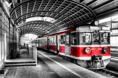 Nálepka Vlak