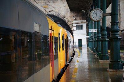Nálepka Vlak na nádraží