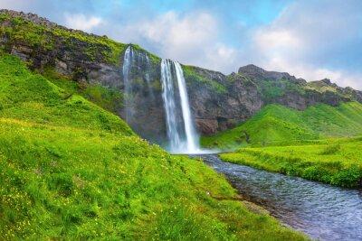 Nálepka Voda protéká rychlým proudem