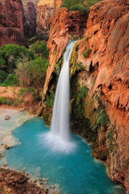 Nálepka Vodopád v Grand Canyon, Arizona, USA