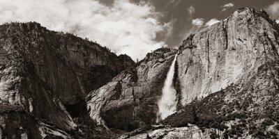 Nálepka vodopády