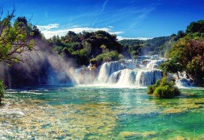 Nálepka Vodopády Krka