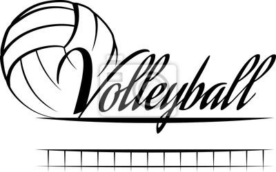 Nálepka Volejbal Banner