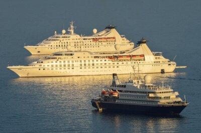 Nálepka Výletní lodě kotvící Dubrovnik