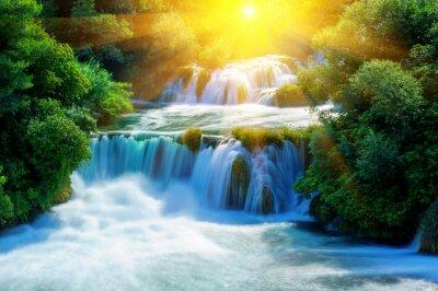 Nálepka Waterfalls Krka