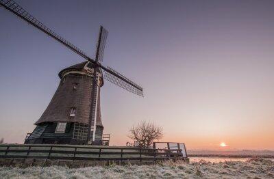 Nálepka Winter mill