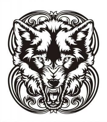 Nálepka WOLF