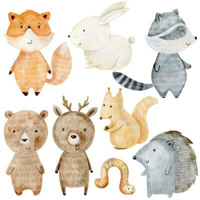 Nálepka Woodland Animals Set