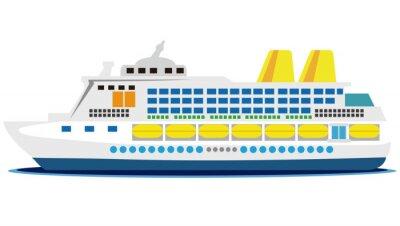Nálepka 大型 客船