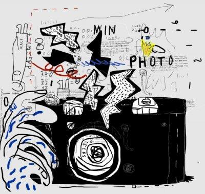 Nálepka Фотоаппарат