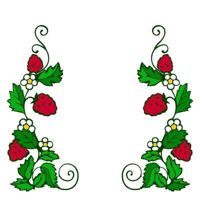 Nálepka ягода