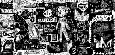 Nálepka Граффити