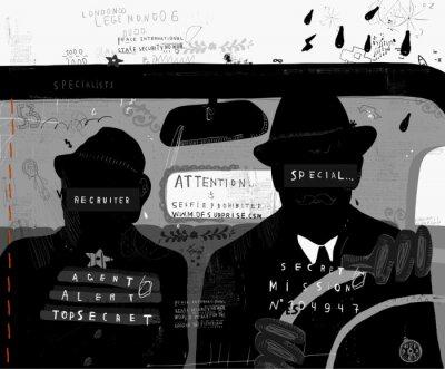 Nálepka Агенты