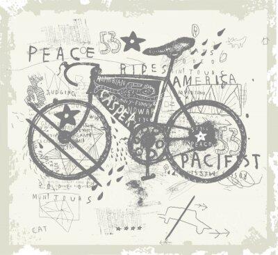 Nálepka Велосипед