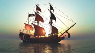 Nálepka 帆船