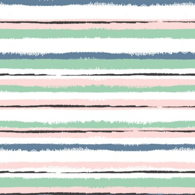 Nálepka Grunge pruhované bezešvé vzor, Vintage zázemí pro balení, tapety, textilu