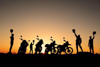 Nálepka motorsiklet Takımı