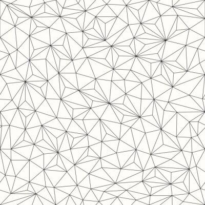 Nálepka Trojúhelníky pozadí, bezešvé vzor, provedení linek