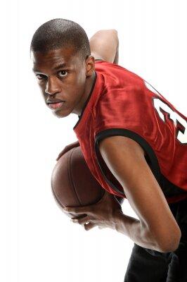 Nálepka Young Black basketbalista