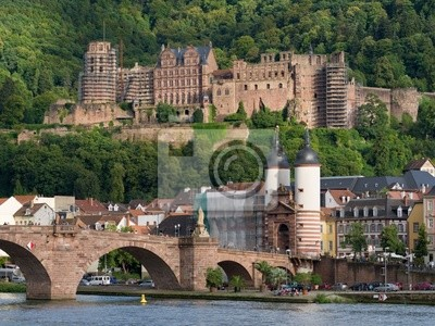 Nálepka Zámek Heidelberg