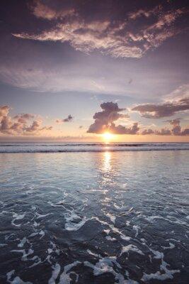 Nálepka Západ slunce na Bali
