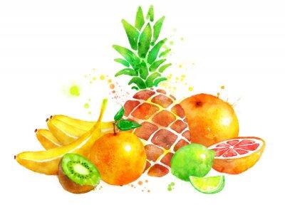 Nálepka Zátiší s ovocem.