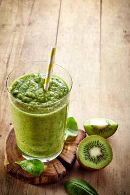 Nálepka Zdravá zelená smoothie