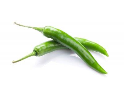 Nálepka Zelené chilli papričky