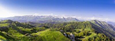Nálepka Zelené kopce a hory