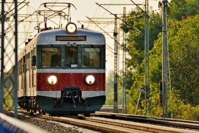 Nálepka Železniční doprava
