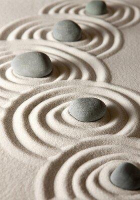 Nálepka Zen kameny