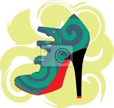 Žena obuvi.