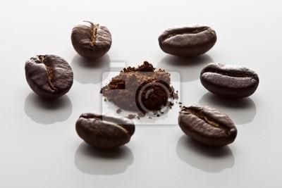 Nálepka Ziarna kawy