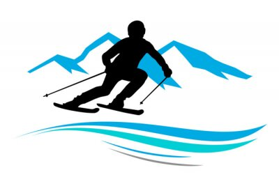 Nálepka Zimní sporty - 13