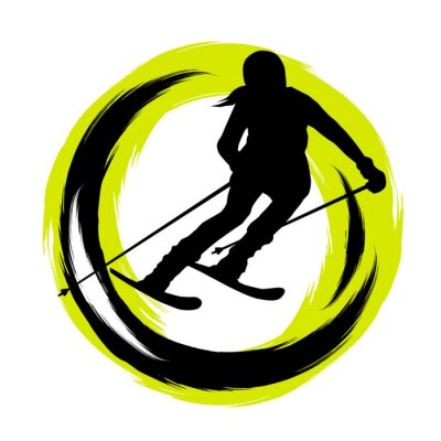 Nálepka Zimní sporty - 23