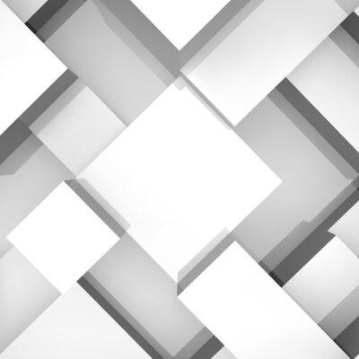 Obraz 3d bloky struktura pozadí. Vektorové ilustrace.