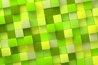 Obraz 3D Cube pozadí