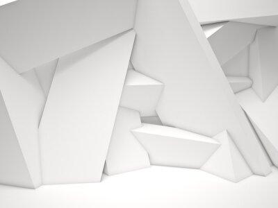 Obraz 3d geometrický stěna