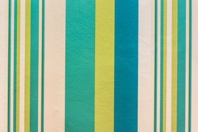 Obraz Abstract colorful vintage background with stripe pattern on wall