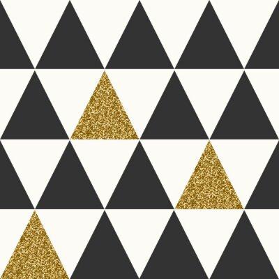 Obraz Abstract Geometrické bezešvé vzor