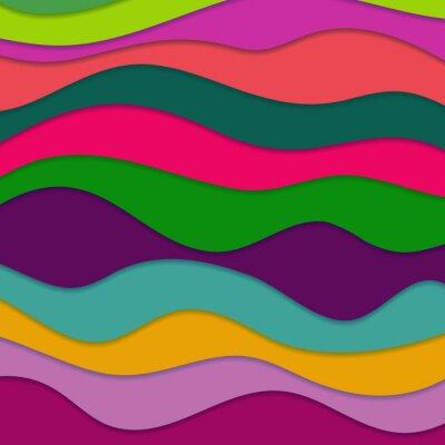 Obraz Abstract vlnitý pozadí