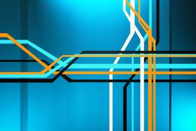 Obraz Abstrakt obvodu
