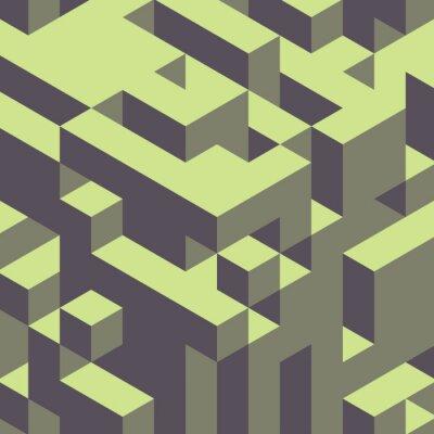 Obraz Abstraktní geometrické 3d barevné pozadí.